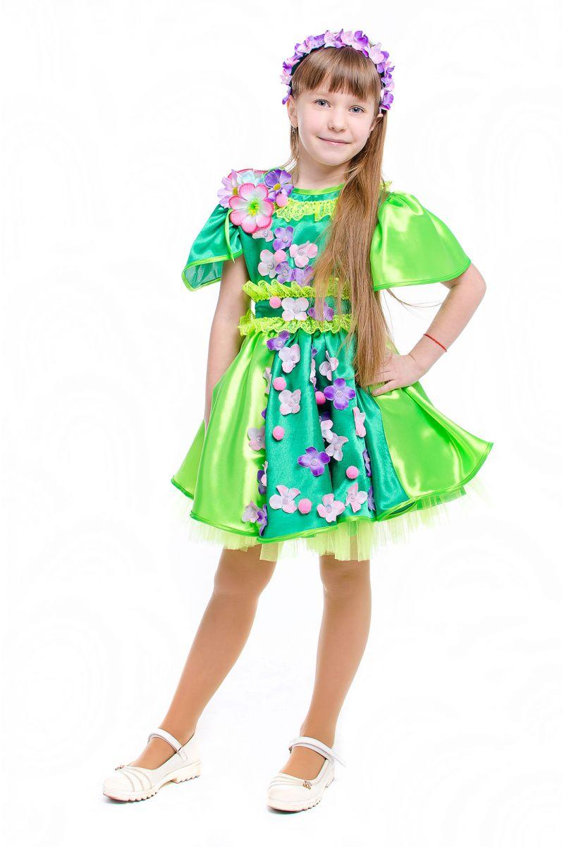 Масочка - Весна «Цвет вишни» карнавальный костюм для девочки / фото №2151