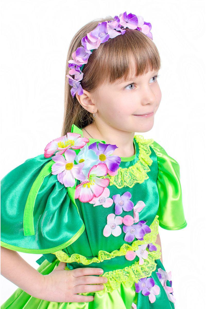 Масочка - Весна «Цвет вишни» карнавальный костюм для девочки / фото №2155
