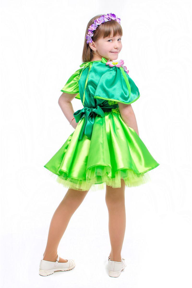 Масочка - Весна «Цвет вишни» карнавальный костюм для девочки / фото №2156