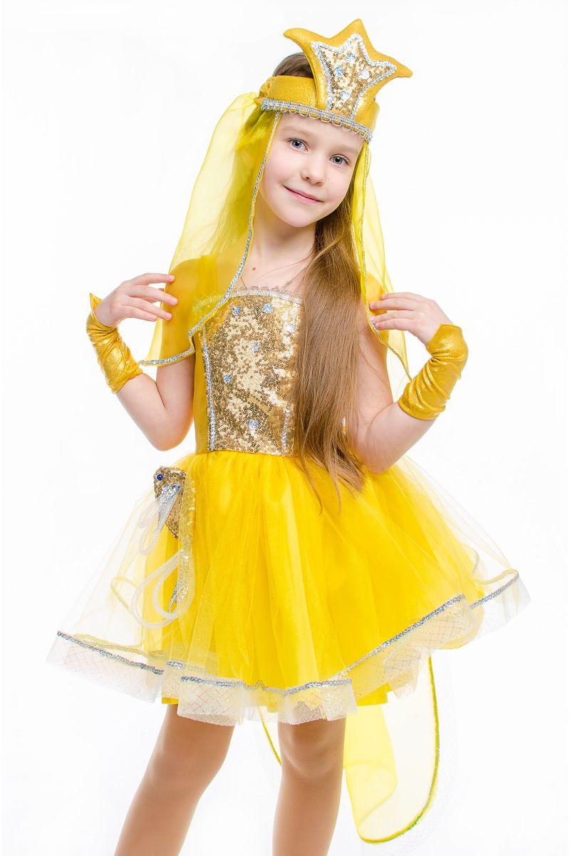 Масочка - «Золотая рыбка» карнавальный костюм для девочки / фото №2166