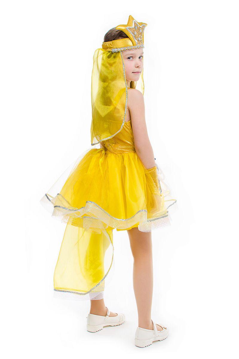 Масочка - «Золотая рыбка» карнавальный костюм для девочки / фото №2167