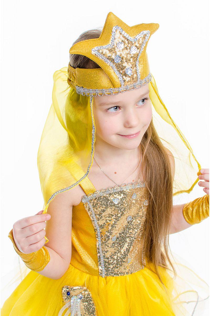 Масочка - «Золотая рыбка» карнавальный костюм для девочки / фото №2169