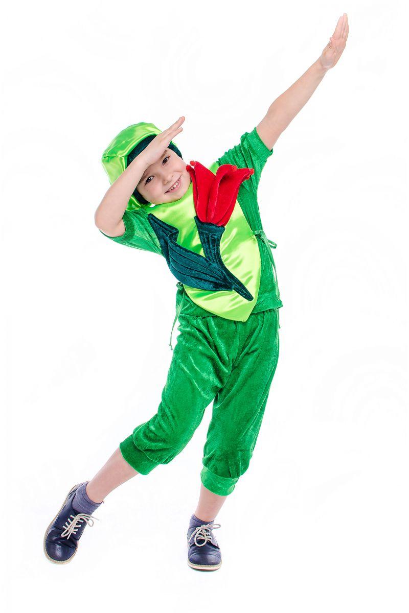 Масочка - «Тюльпан» карнавальный костюм для мальчика / фото №2176