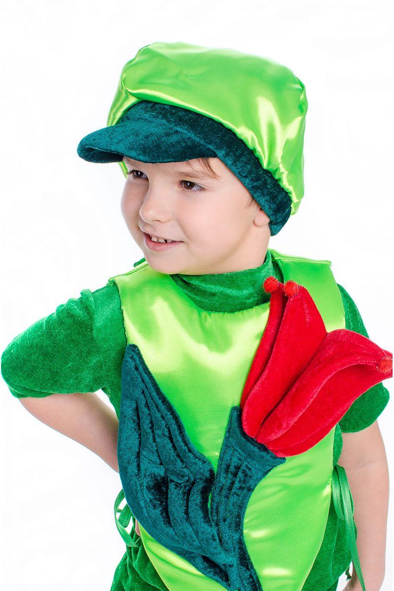 Масочка - «Тюльпан» карнавальный костюм для мальчика / фото №2179