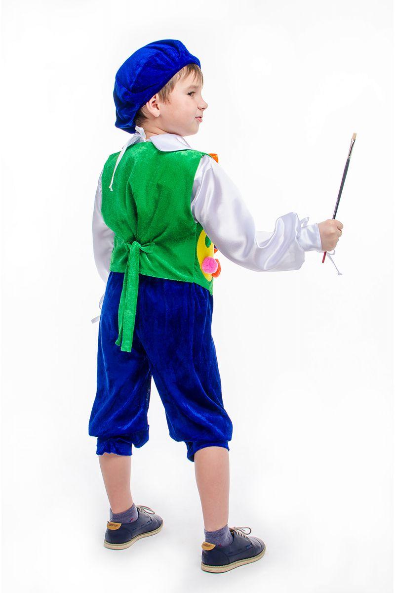 Масочка - «Художник» карнавальный костюм для мальчика / фото №2184