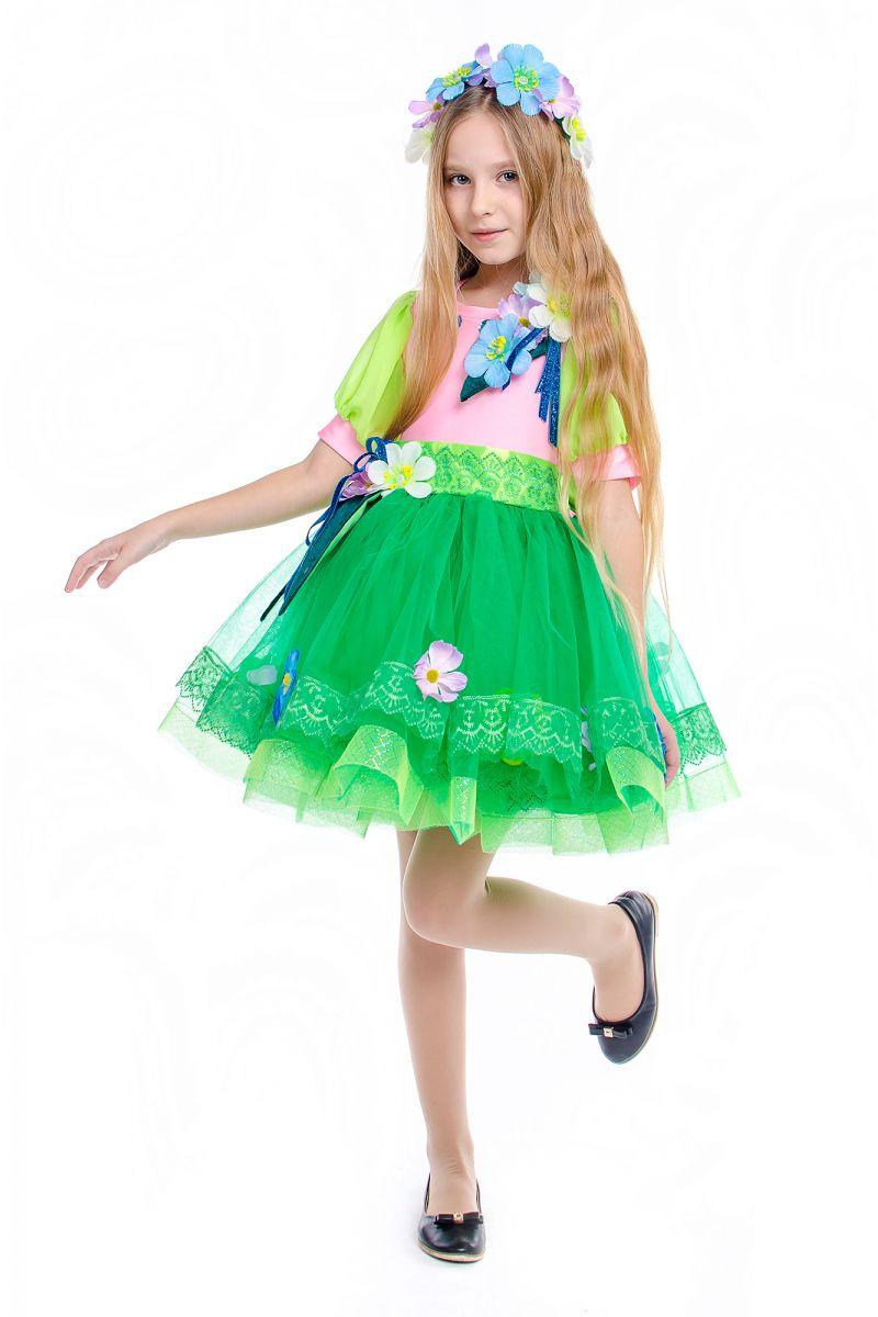 Масочка - «Весна» карнавальный костюм для девочки / фото №2187