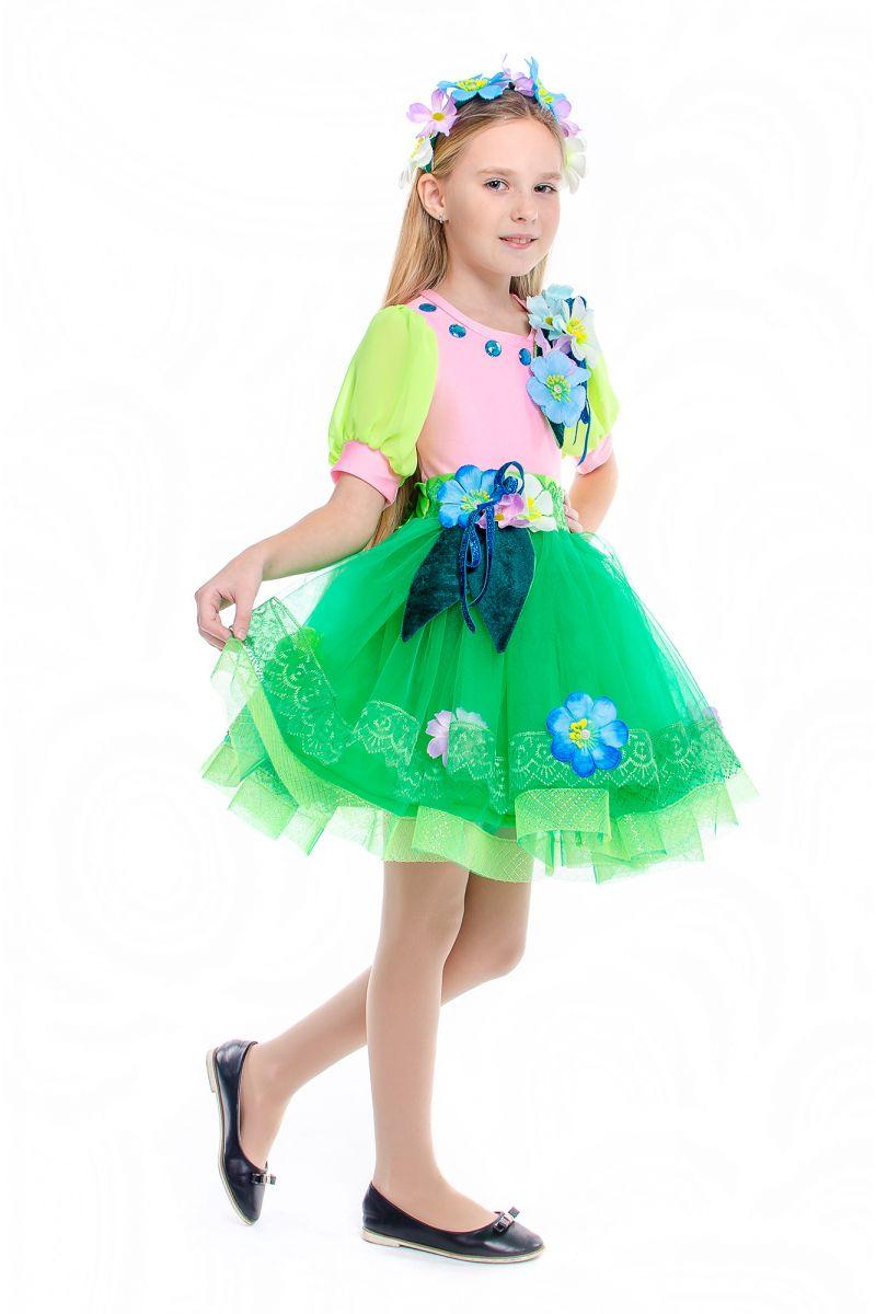 Масочка - «Весна» карнавальный костюм для девочки / фото №2188