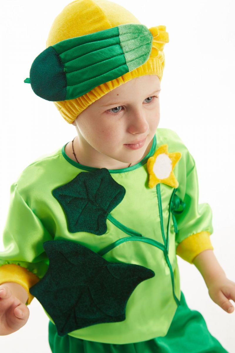 Масочка - «Огурец» карнавальный костюм для мальчика / фото №219