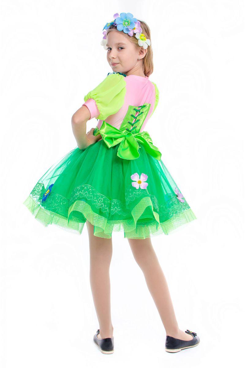 Масочка - «Весна» карнавальный костюм для девочки / фото №2191