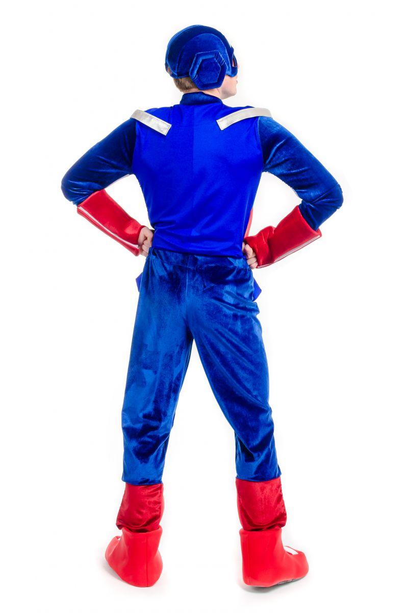 Масочка - Капитан Америка «Captain America» карнавальный костюм для взрослых / фото №2195