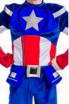 Капитан Америка «Captain America» карнавальный костюм для взрослых - 2199