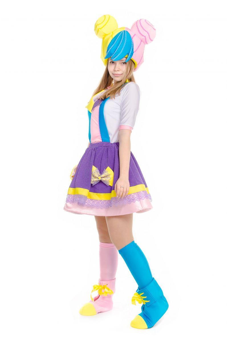 Масочка - Кукла LOL «Бон Бон (Bon Bon)» карнавальный костюм для аниматоров / фото №2226