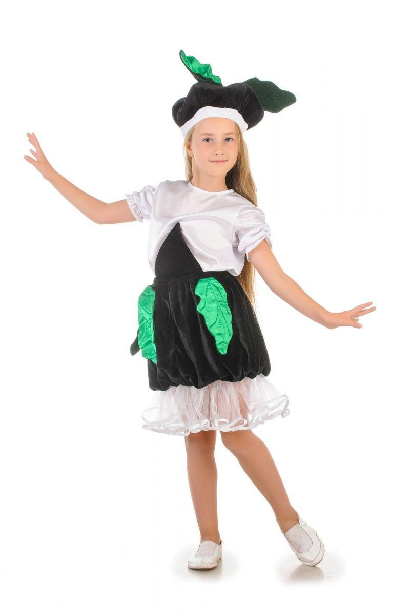 «Редька» карнавальный костюм для девочки