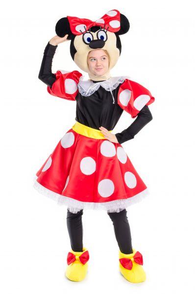 Минни Маус «Minnie Mouse» карнавальный костюм для аниматоров
