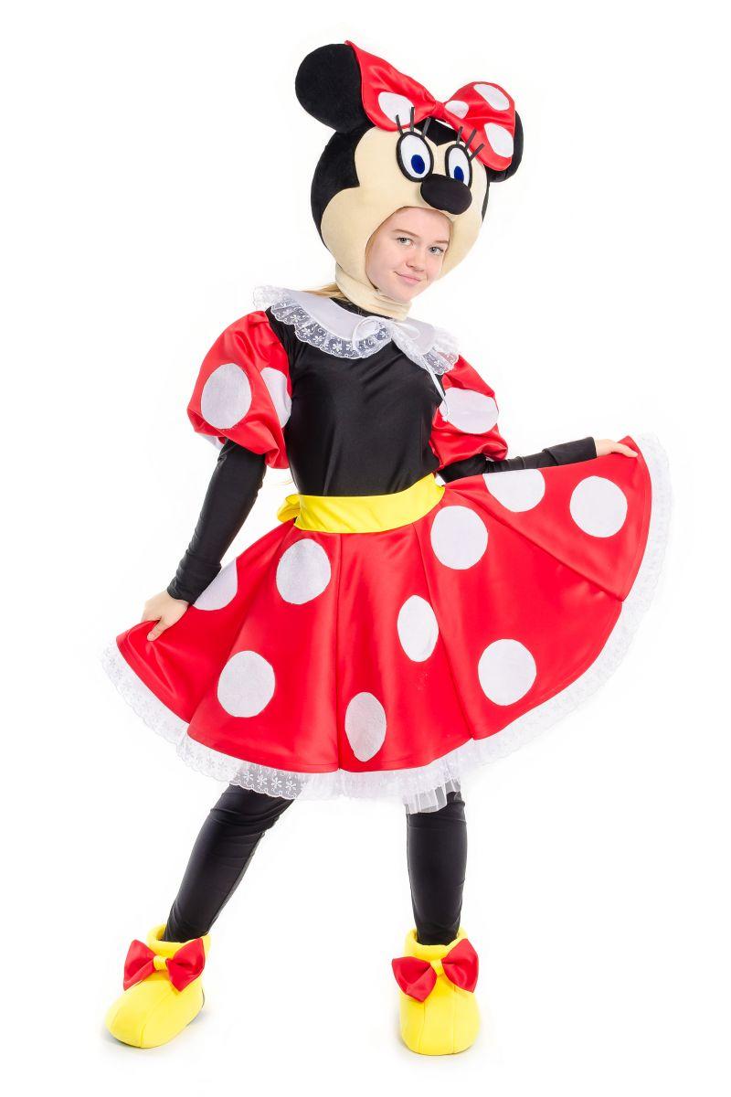 Масочка - Минни Маус «Minnie Mouse» карнавальный костюм для аниматоров / фото №2242
