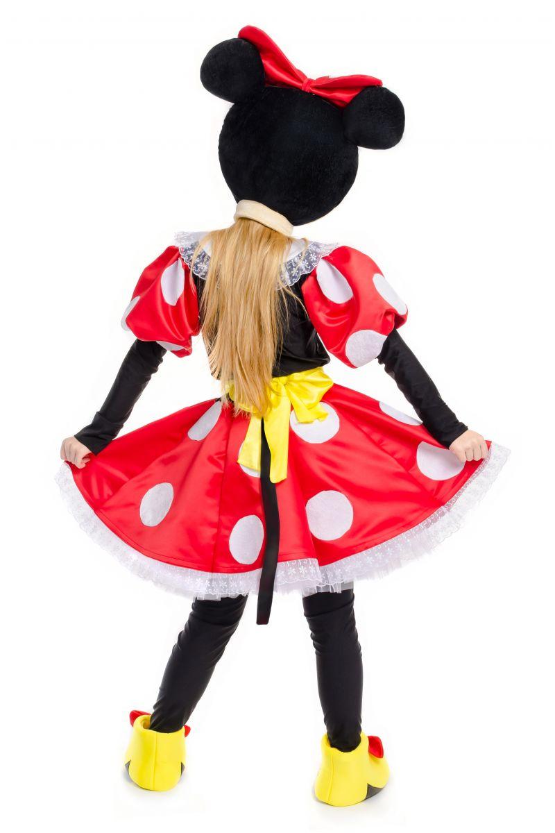 Масочка - Минни Маус «Minnie Mouse» карнавальный костюм для аниматоров / фото №2243