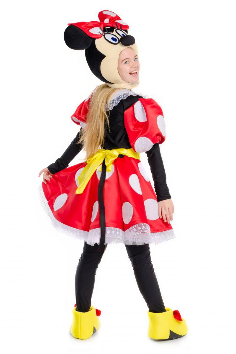 Масочка - Минни Маус «Minnie Mouse» карнавальный костюм для аниматоров / фото №2244