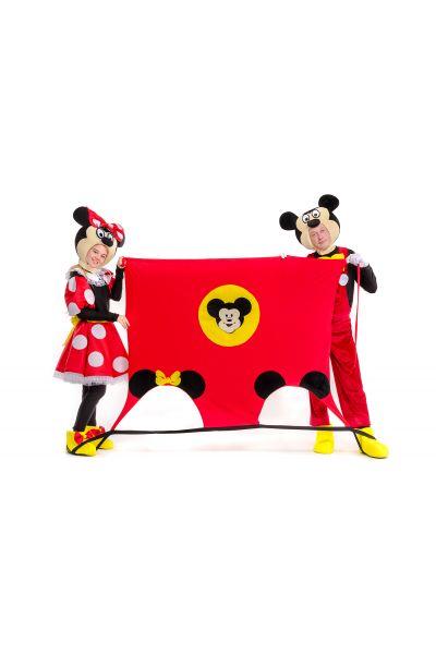 Игровой коврик «Микки и Минни Маус» реквизит для аниматоров