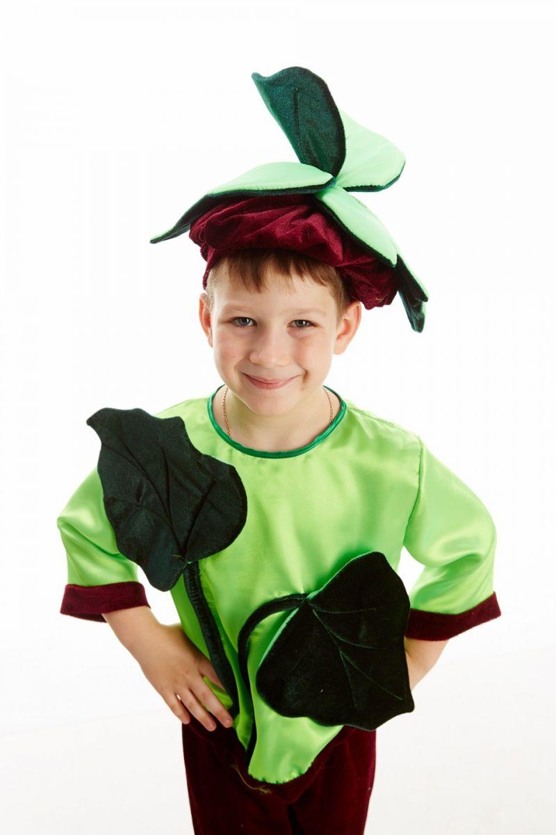 Масочка - «Бурячок» карнавальный костюм для мальчика / фото №226