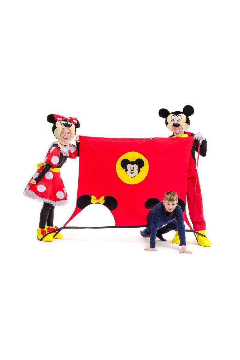 Масочка - Игровой коврик «Микки и Минни Маус» реквизит для аниматоров / фото №2260