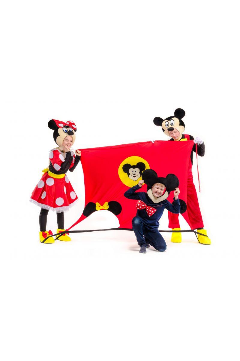 Масочка - Маска для фотосессий «Микки и Минни Маус» реквизит для аниматоров / фото №2261