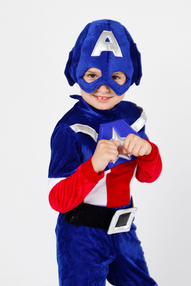 Масочка - Костюм «Капитан Америка» карнавальный костюм для мальчика / фото №2275