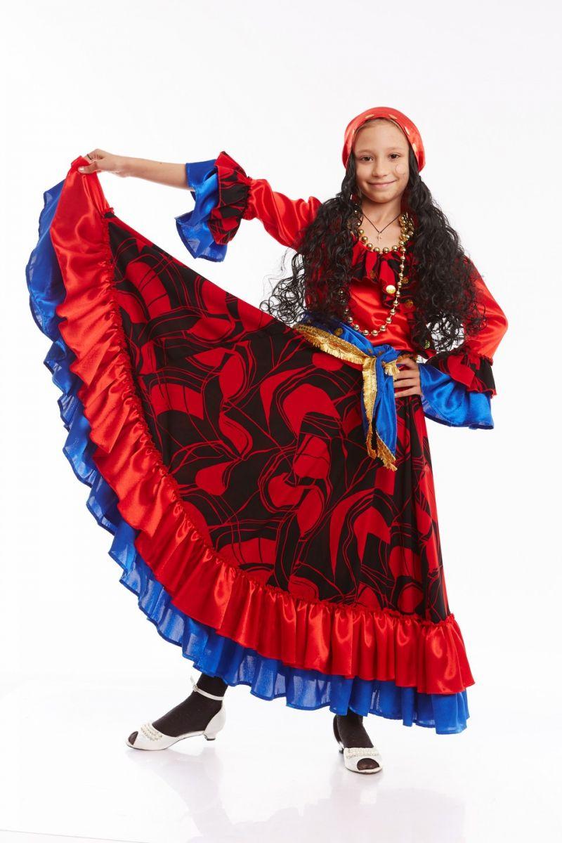 «Цыганка» карнавальный костюм для девочки