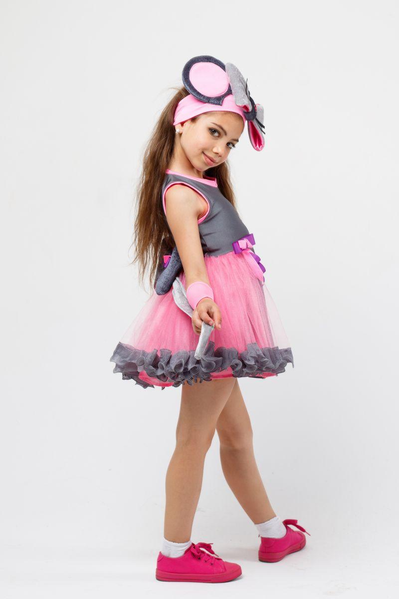 Масочка - Костюм Мышка «Норушка» карнавальный костюм для девочки / фото №2287