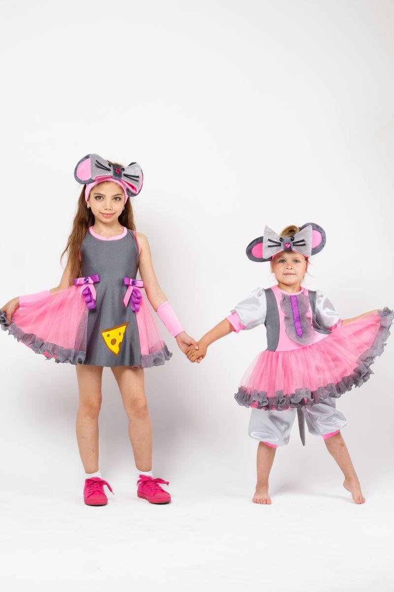 Масочка - Костюм Мышка «Норушка» карнавальный костюм для девочки / фото №2289