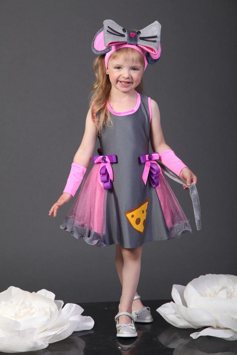 Масочка - Костюм Мышка «Норушка» карнавальный костюм для девочки / фото №2292