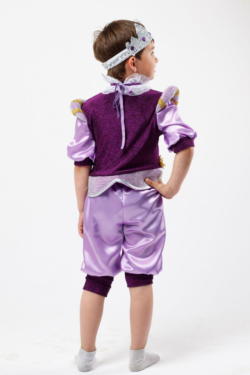 Масочка - Принц «Джеймс» карнавальный костюм для мальчика / фото №2304