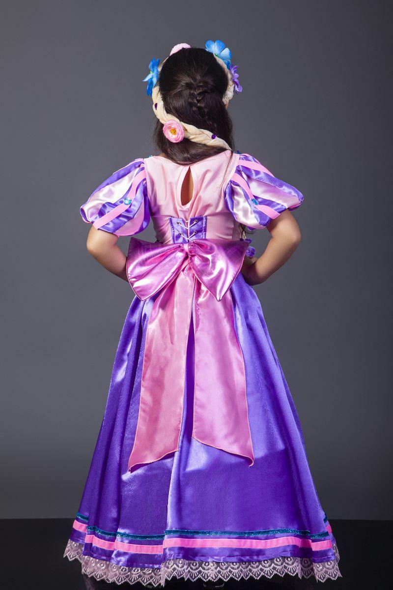 Масочка - Принцесса «Рапунцель» карнавальный костюм для девочки / фото №2313
