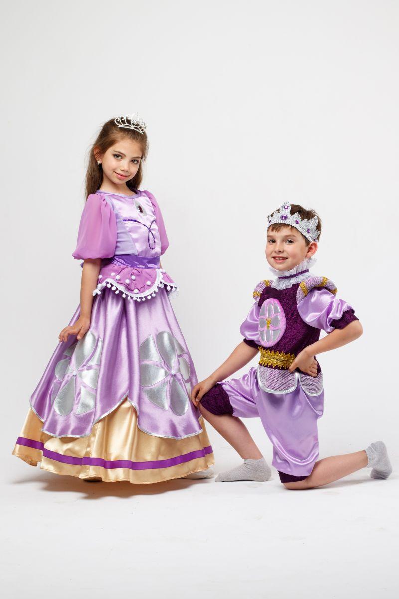 Масочка - Принцесса «София» карнавальный костюм для девочки / фото №2315