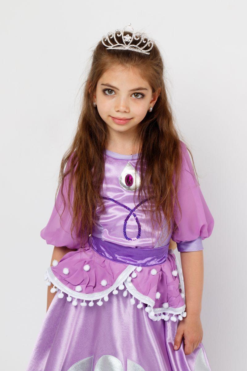 Масочка - Принцесса «София» карнавальный костюм для девочки / фото №2317