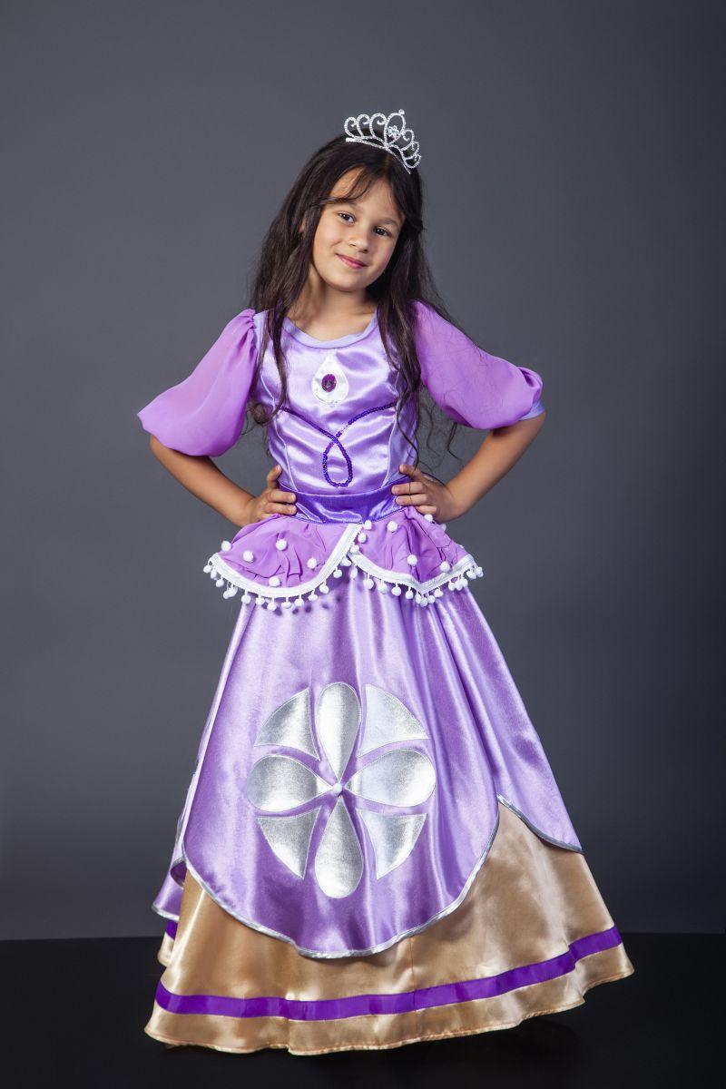 Масочка - Принцесса «София» карнавальный костюм для девочки / фото №2318