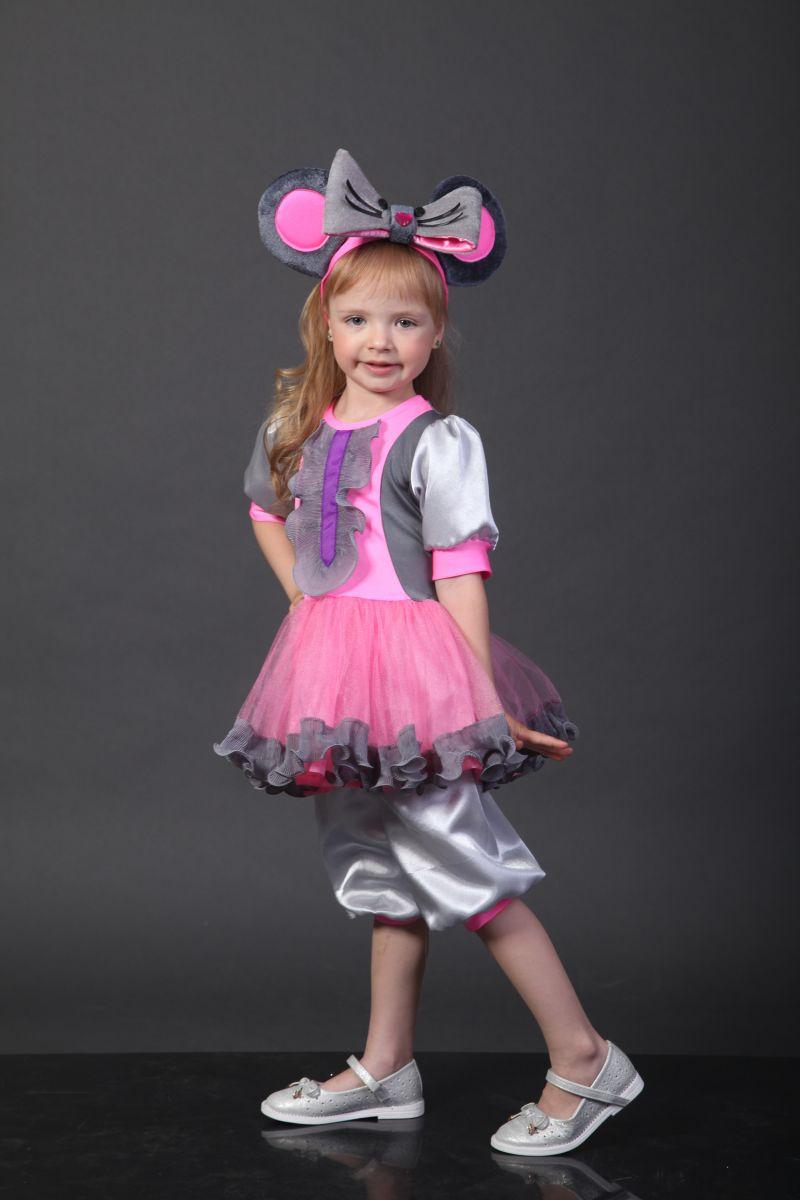 Масочка - Мышка «Малышка» карнавальный костюм для девочки / фото №2327