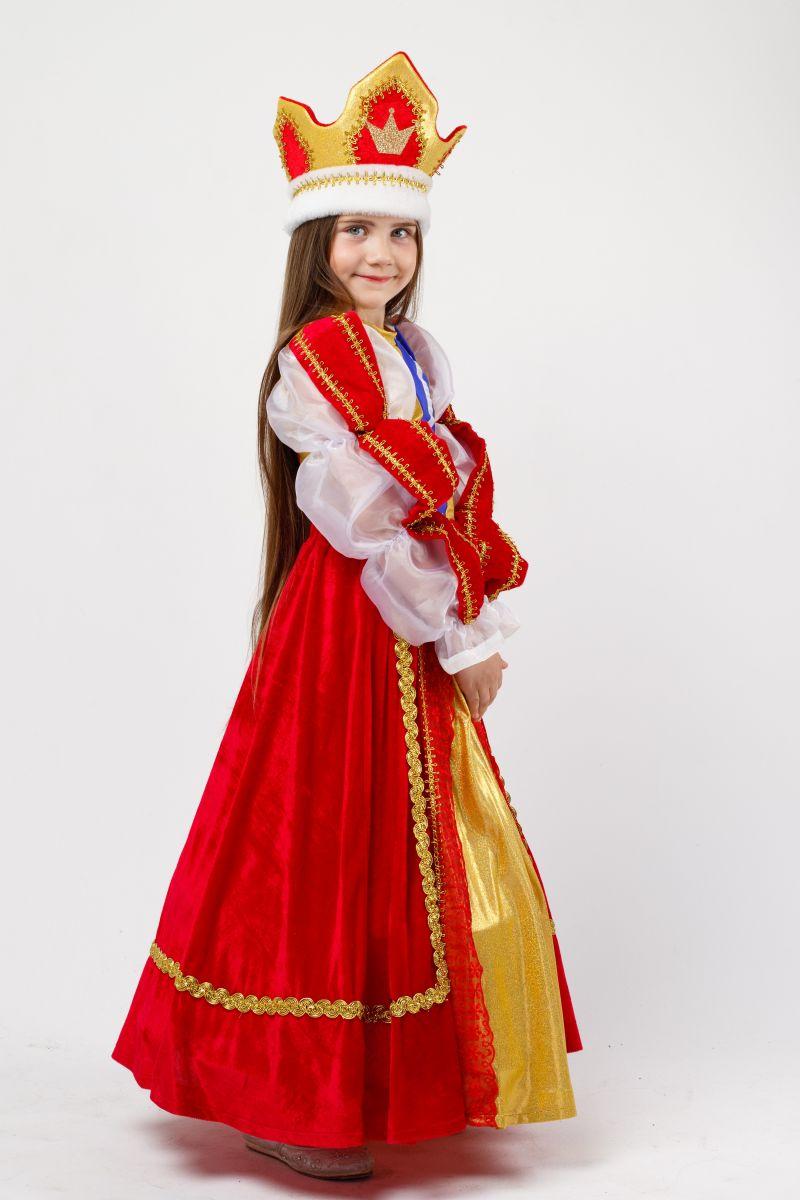 Масочка - Королева «Элизабет» карнавальный костюм для девочки / фото №2332