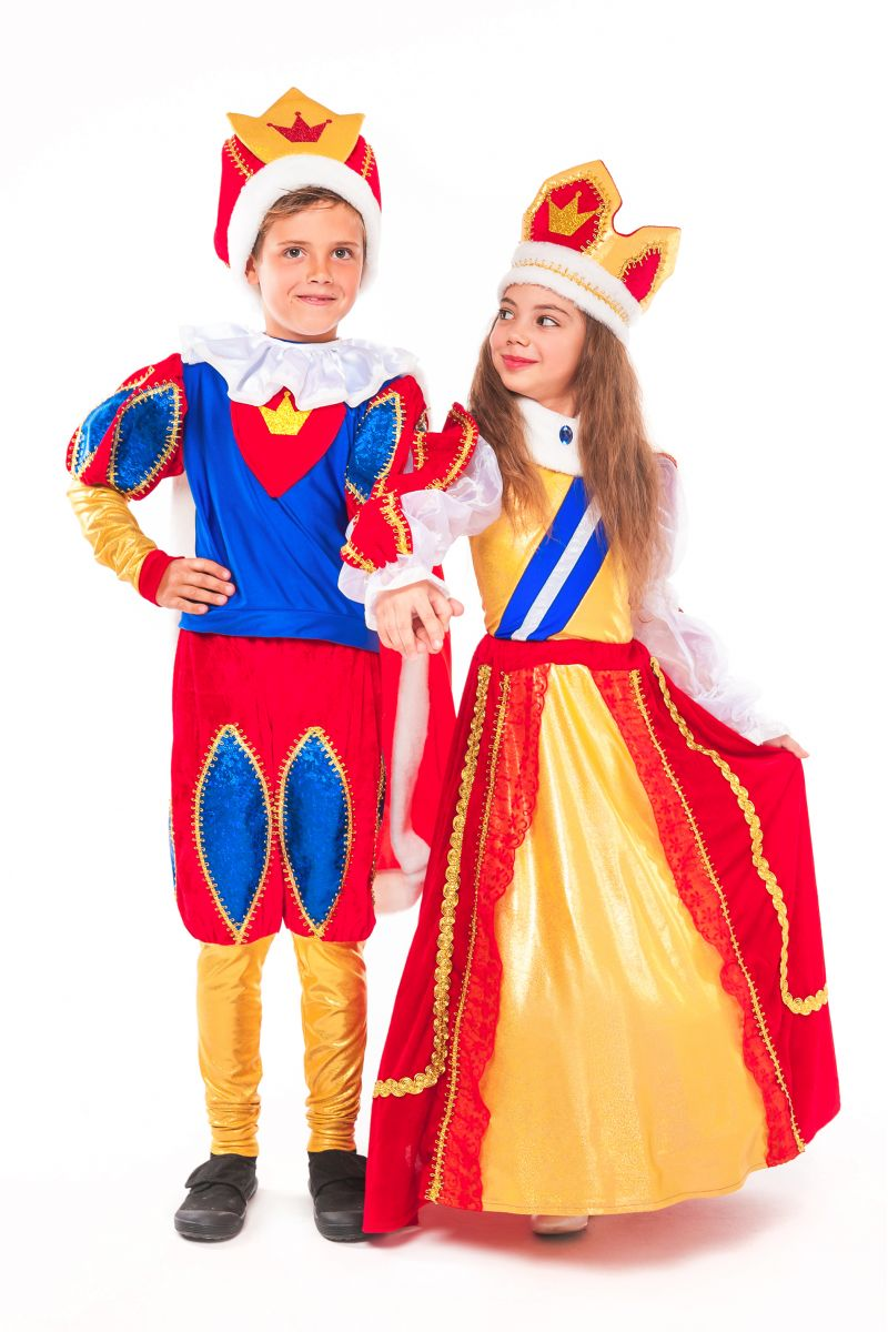Масочка - Королева «Элизабет» карнавальный костюм для девочки / фото №2334