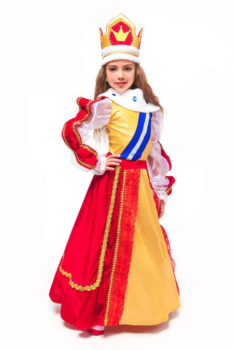 Масочка - Королева «Элизабет» карнавальный костюм для девочки / фото №2335
