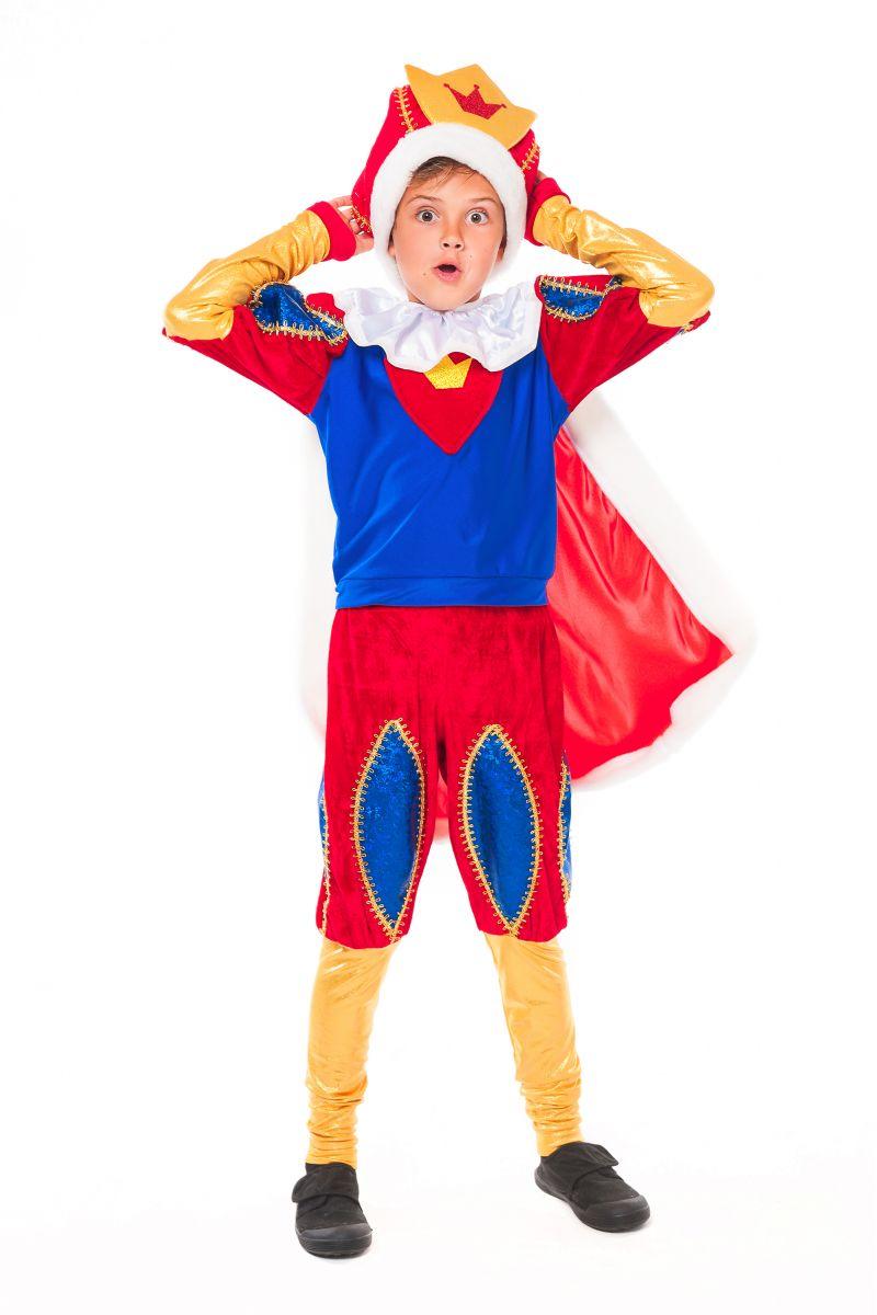 Масочка - Король «Артур» карнавальный костюм для мальчика / фото №2342
