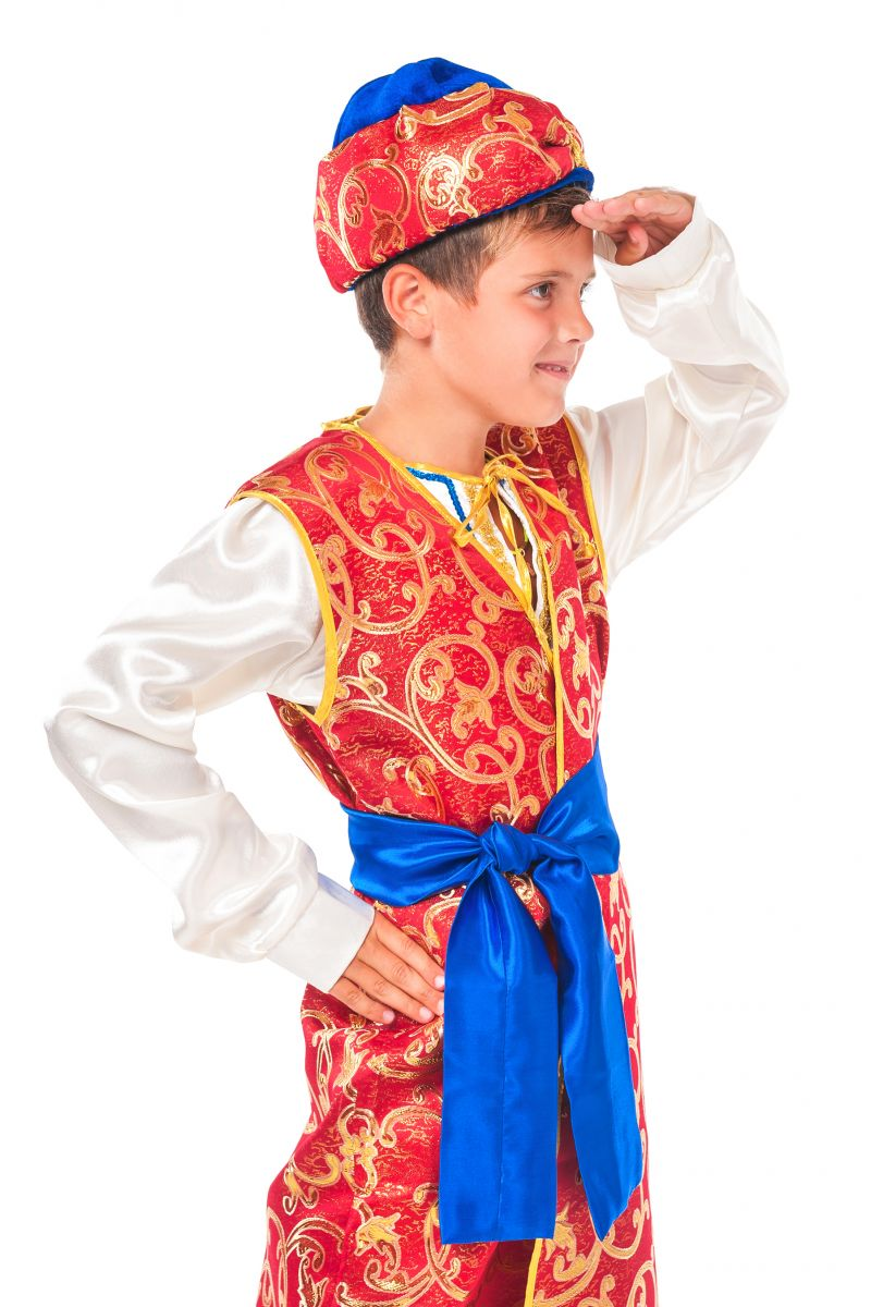 Масочка - «Принц Востока» карнавальный костюм для мальчика / фото №2348