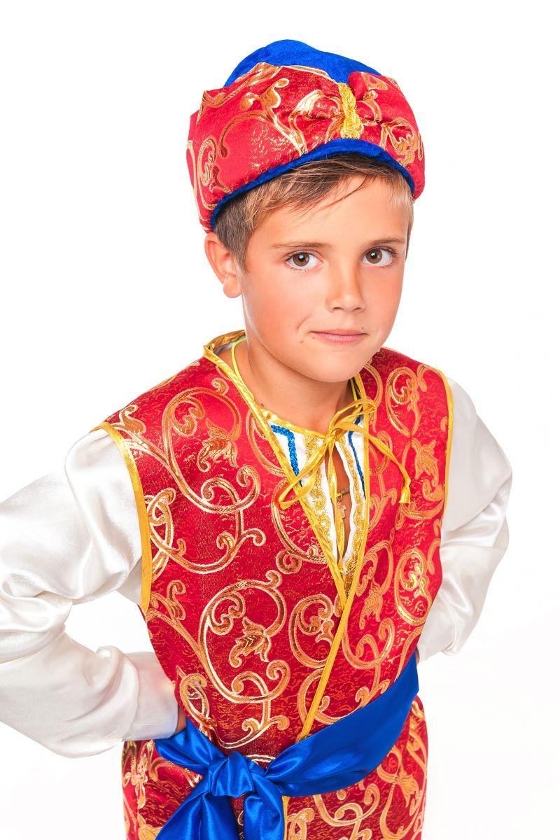 Масочка - «Принц Востока» карнавальный костюм для мальчика / фото №2350