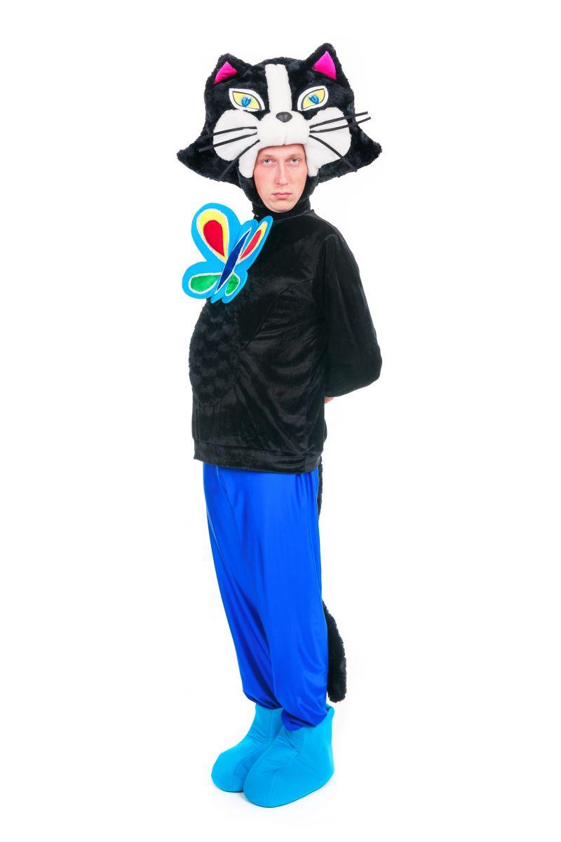 Кот «Бременские музыканты» карнавальный костюм для аниматора