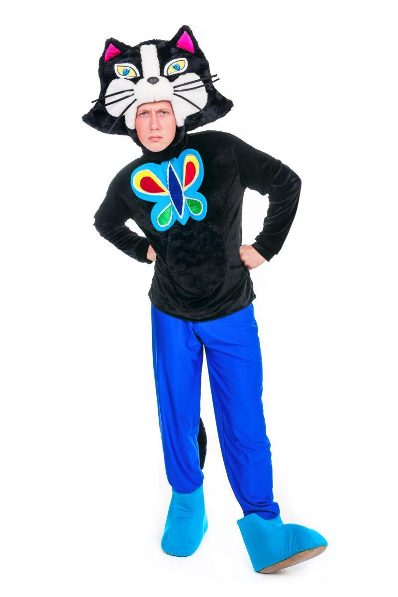 Масочка - Кот «Бременские музыканты» карнавальный костюм для аниматора / фото №2384