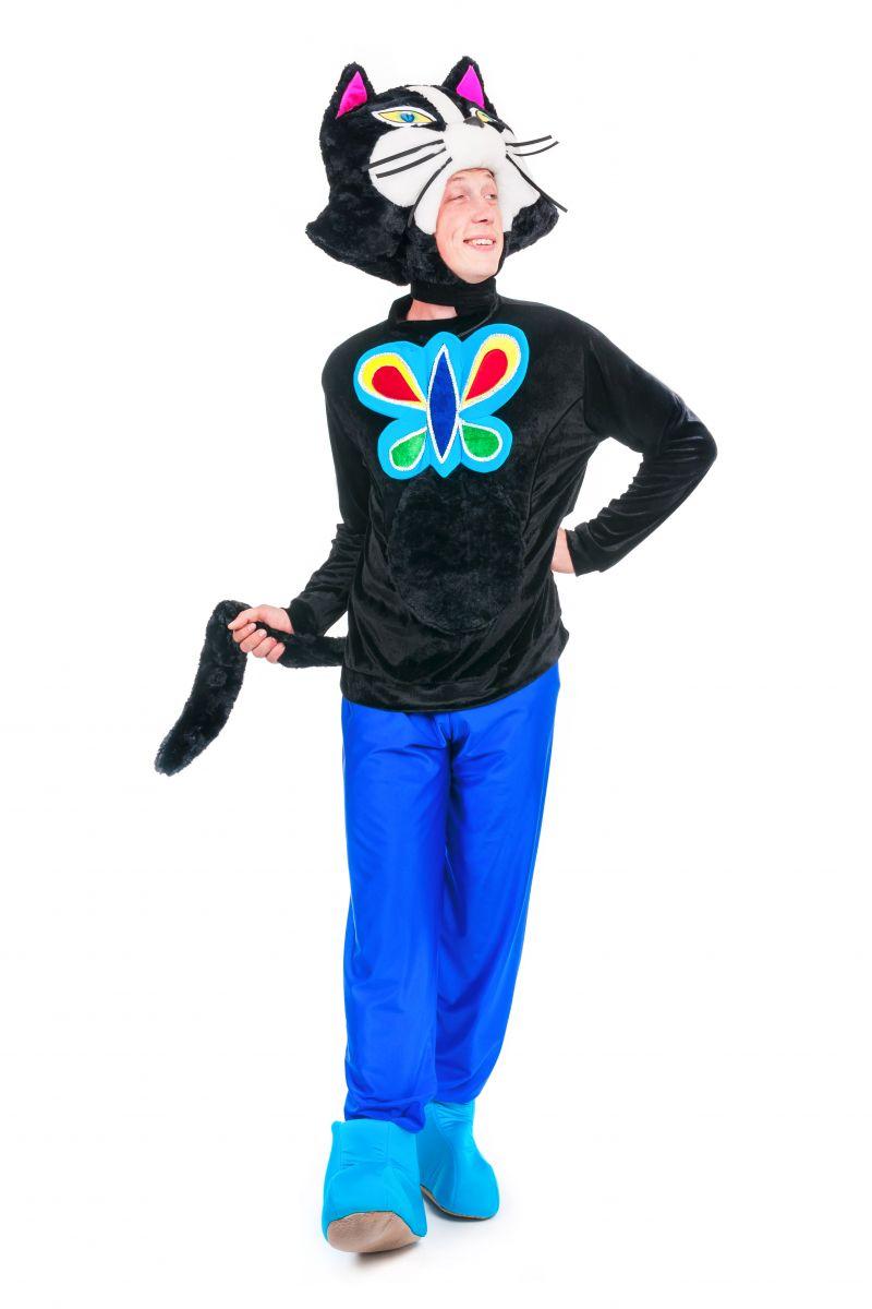 Масочка - Кот «Бременские музыканты» карнавальный костюм для аниматора / фото №2385