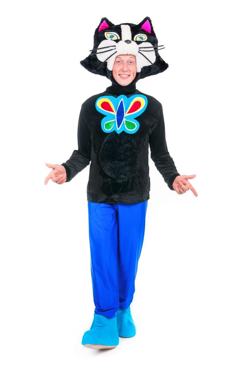 Масочка - Кот «Бременские музыканты» карнавальный костюм для аниматора / фото №2386
