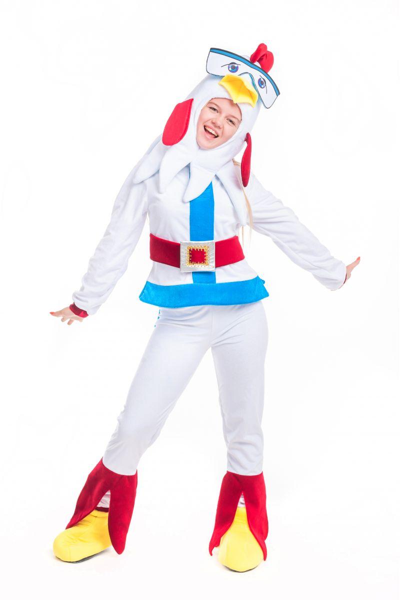 Масочка - Петух «Бременские музыканты» карнавальный костюм для аниматора / фото №2397