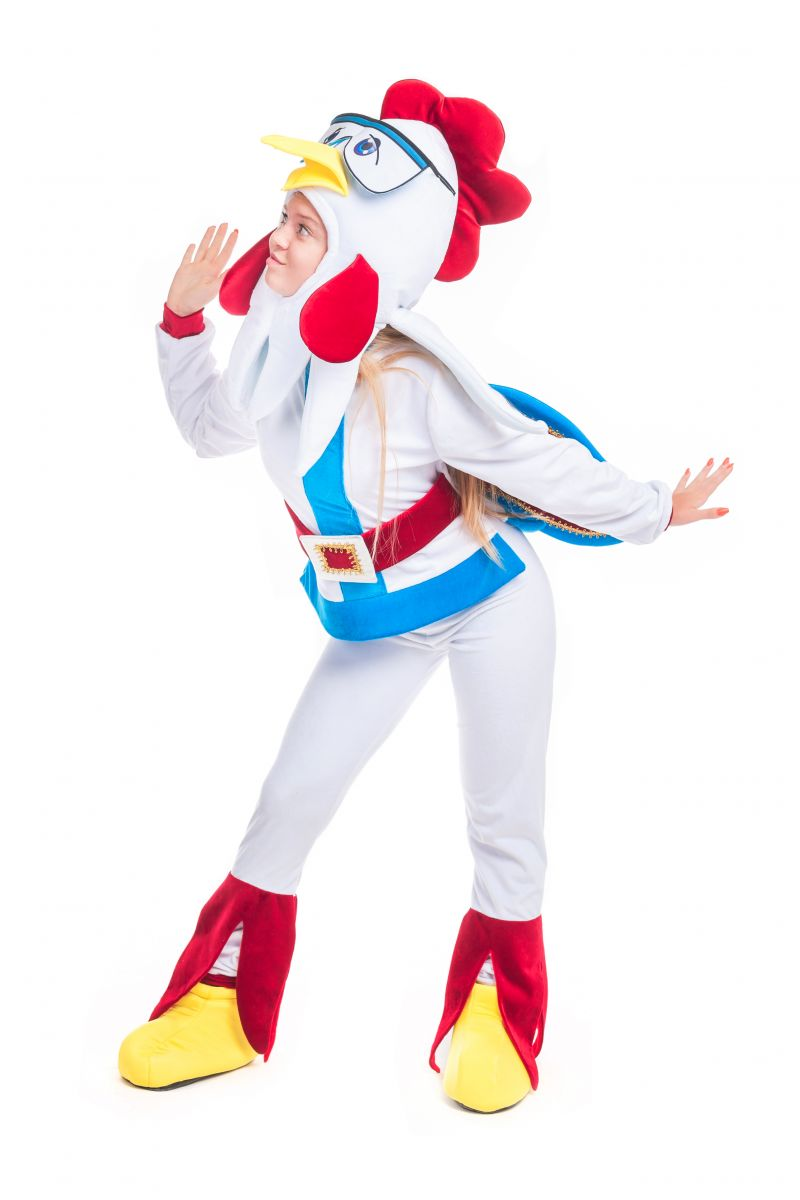 Масочка - Петух «Бременские музыканты» карнавальный костюм для аниматора / фото №2398