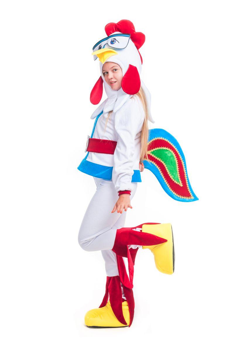 Масочка - Петух «Бременские музыканты» карнавальный костюм для аниматора / фото №2399