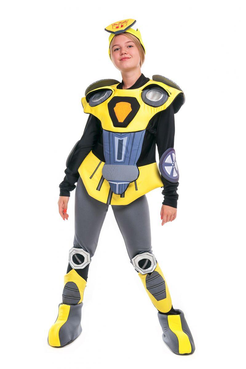 Масочка - Чарли Бамблби «Трансформеры» карнавальный костюм для аниматора / фото №2405
